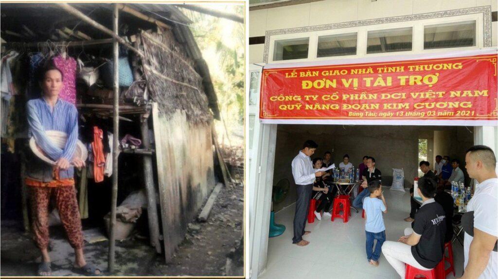 Trao tặng 4 căn nhà tình thương tại Hậu Giang